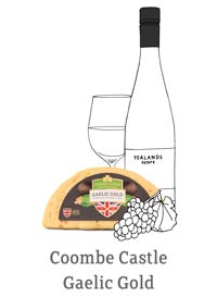 Coombe Castle International Savoury Blends Gaelic Gold Wine Pairing